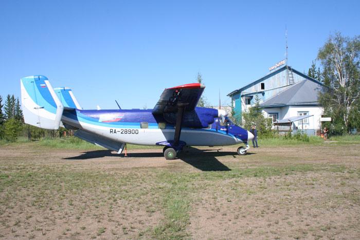 Ан-28 Регион-Авиа в Усть-Мае