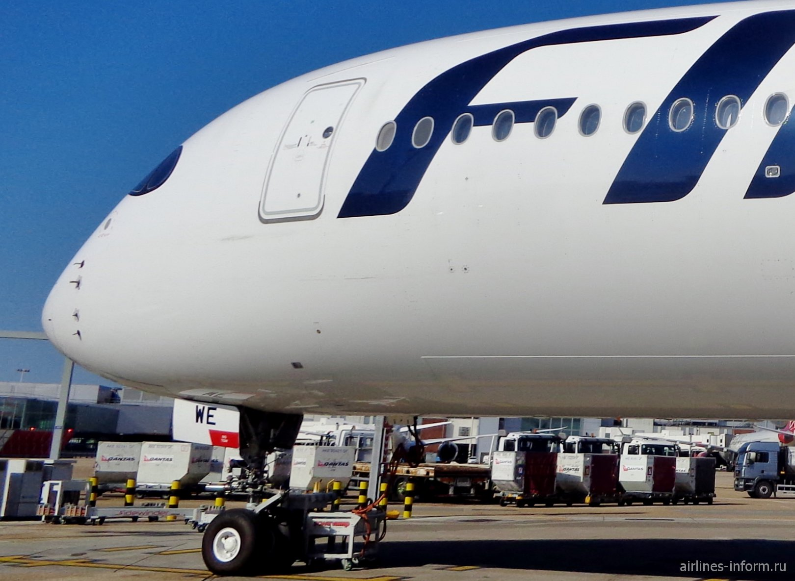 Хельсинки-Лондон (HEL-LHR). Знакомство с Аirbus A350 Finnair + Concorde British Airways