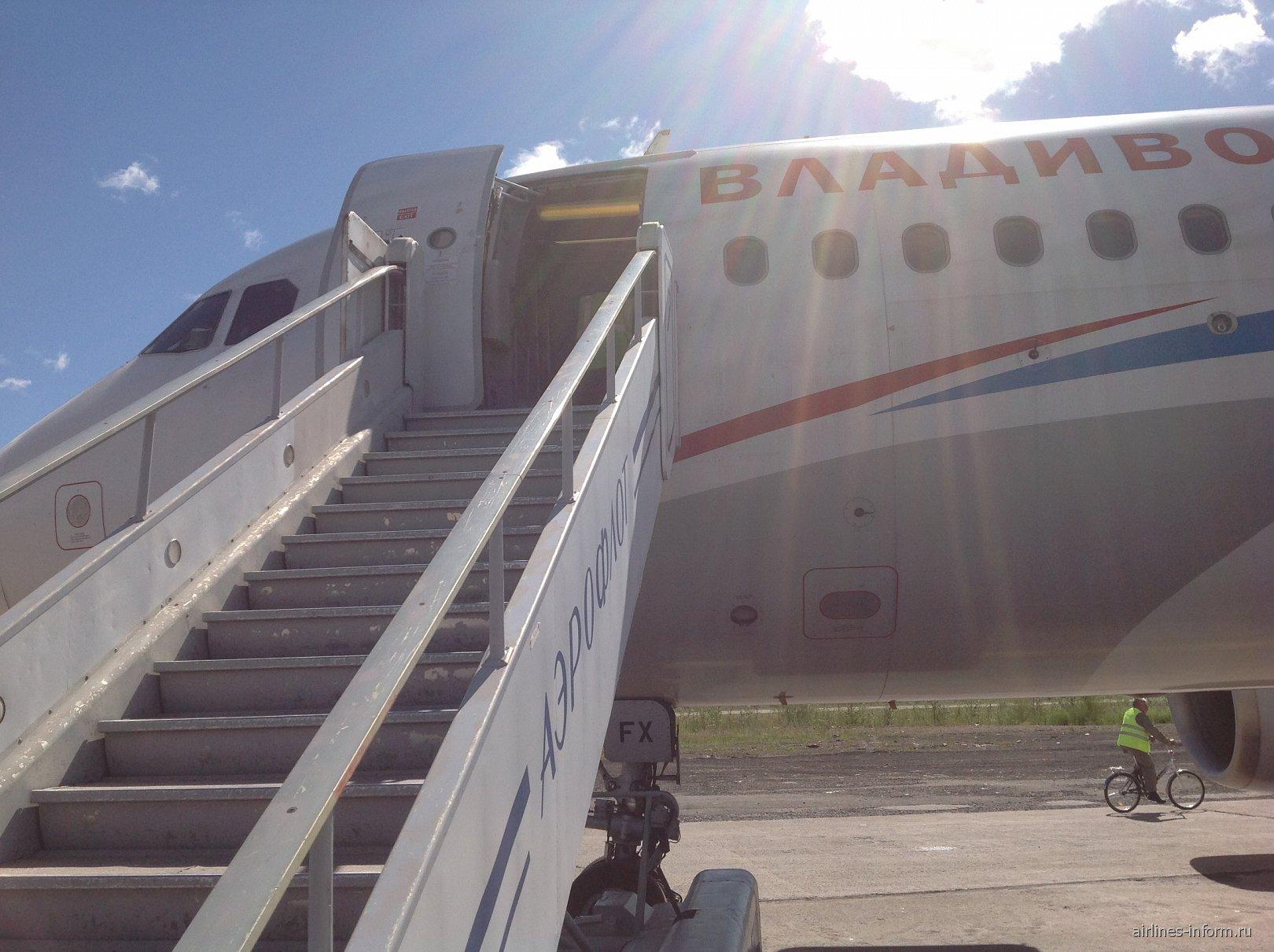 Airbus A320 авиакомпании Владивосток Авиа