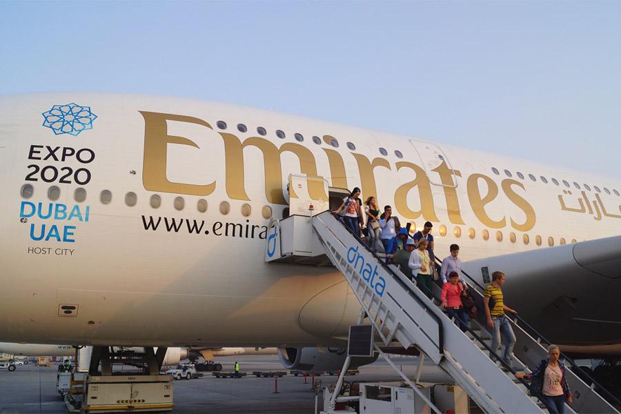 DME-DXB-SZE with Emirates