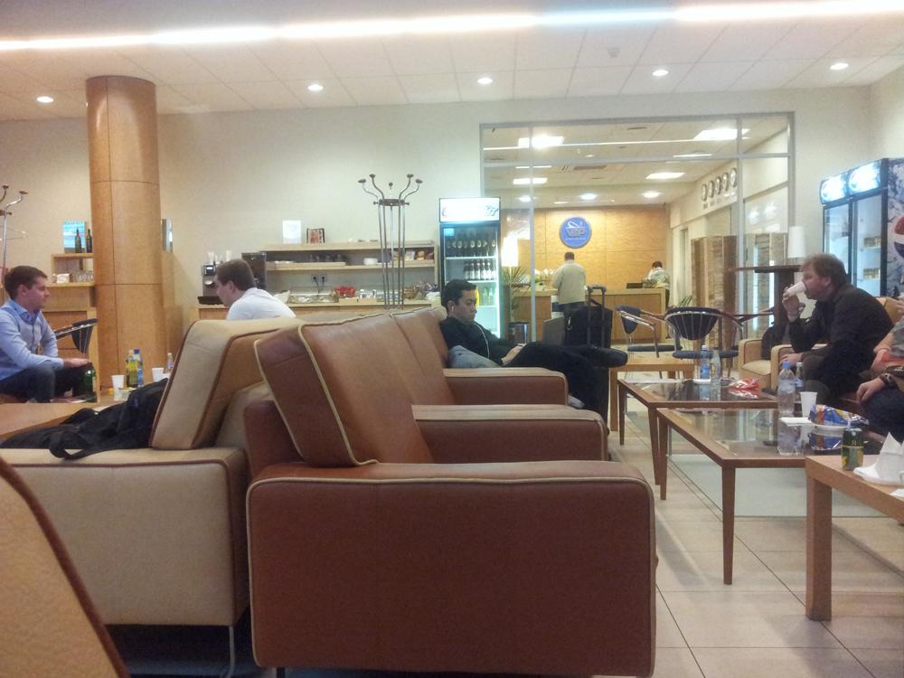 Бизнес-зал в аэропорту Шереметьево