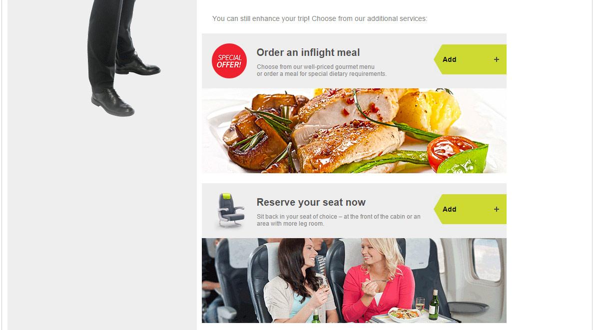 Информационное письмо авиакомпании airBaltic