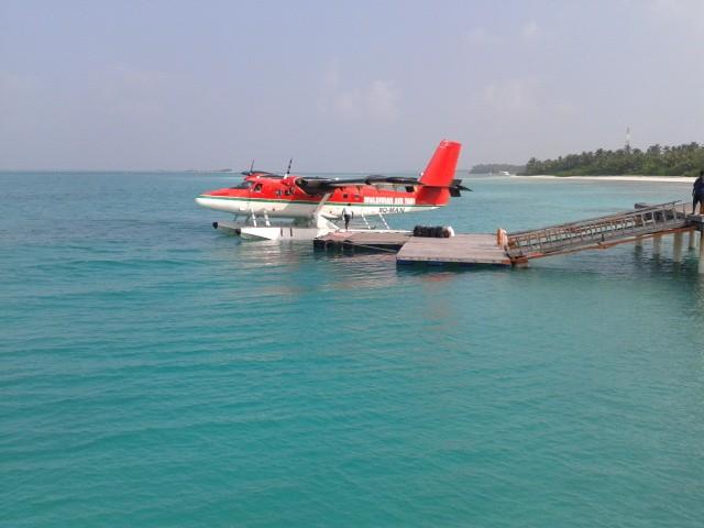 Самолет DHC-6 авиакомпании Maldivian Air Taxi