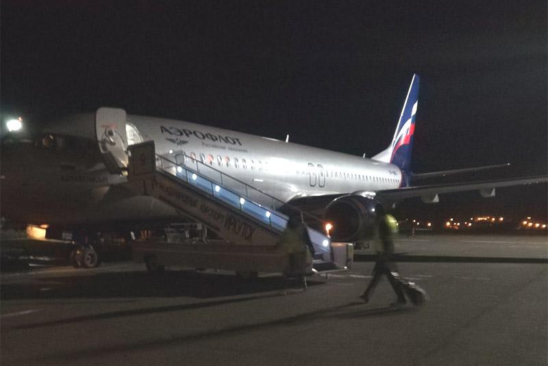 Осенние каникулы. Часть 5. Москва (Шереметьево, SVO-B) - Иркутск (IKT) с Аэрофлот-Российские авиалинии на B-737-800
