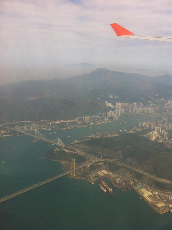 Рейс Аэрофлота Гонконг-Москва