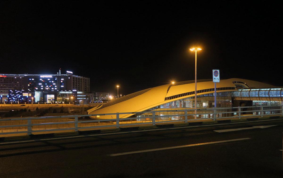 Станция метро в аэропорту Тегеран имени Имама Хомейни