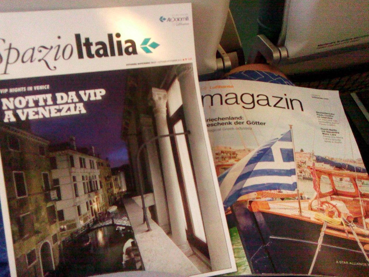 Бортовые журналы авиакомпании Air Dolomiti