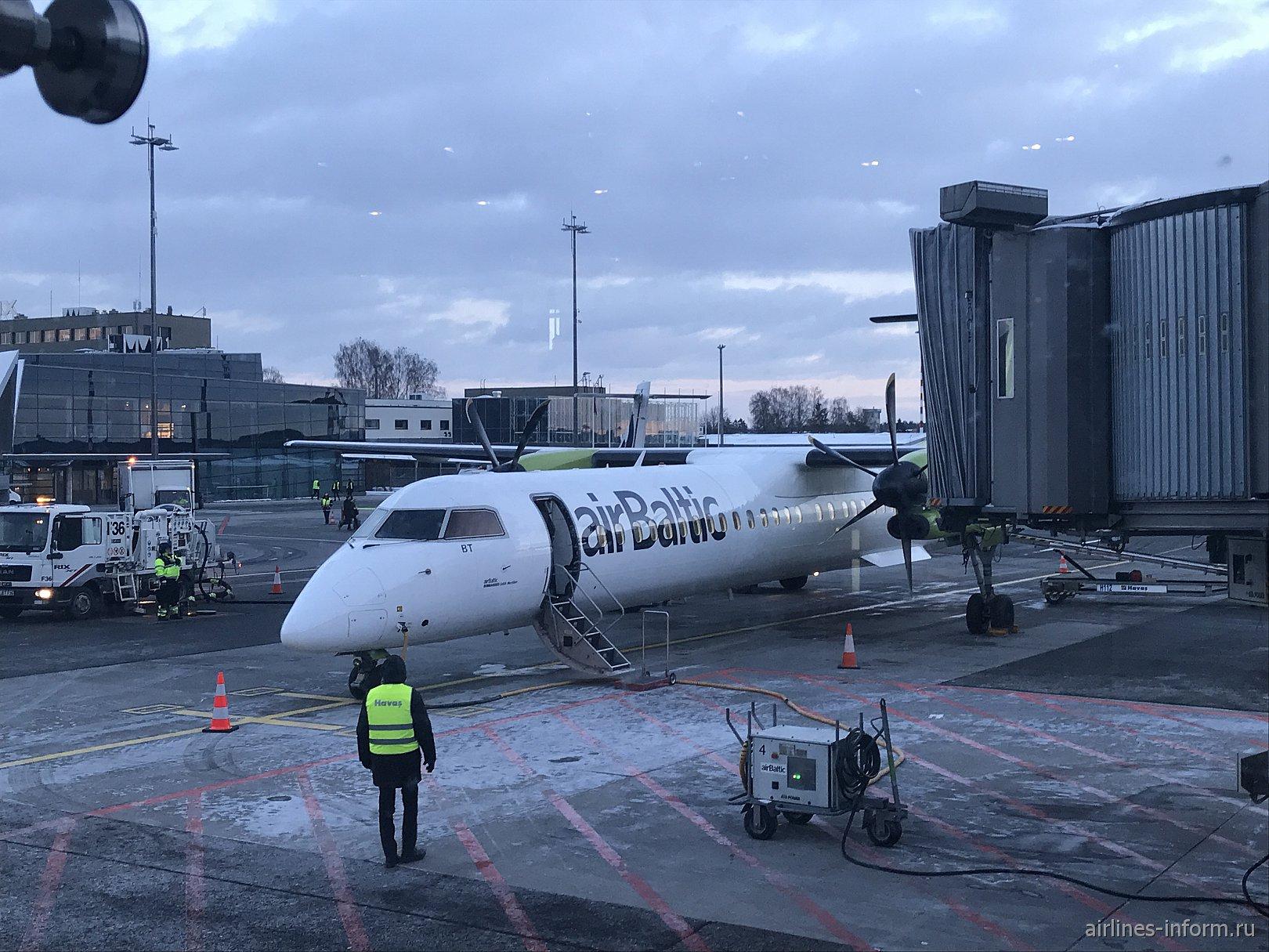 Будапешт - Рига на Bombardier Dash 8 Q400 авиакомпании Air Baltic (72 фото)