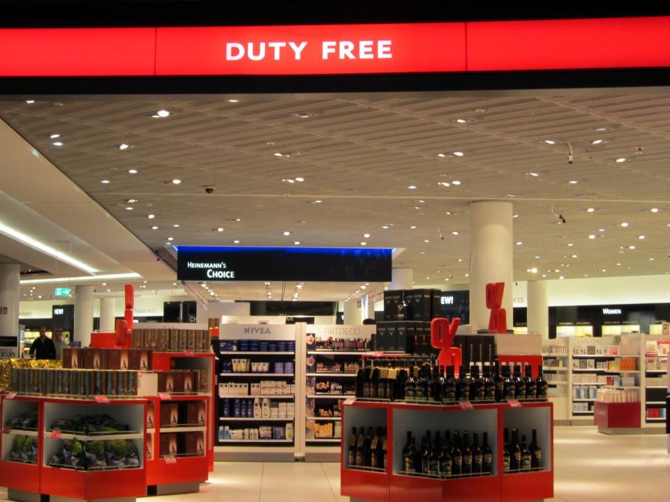 Магазин Duty-free в аэропорту Франкфурт-на-Майне