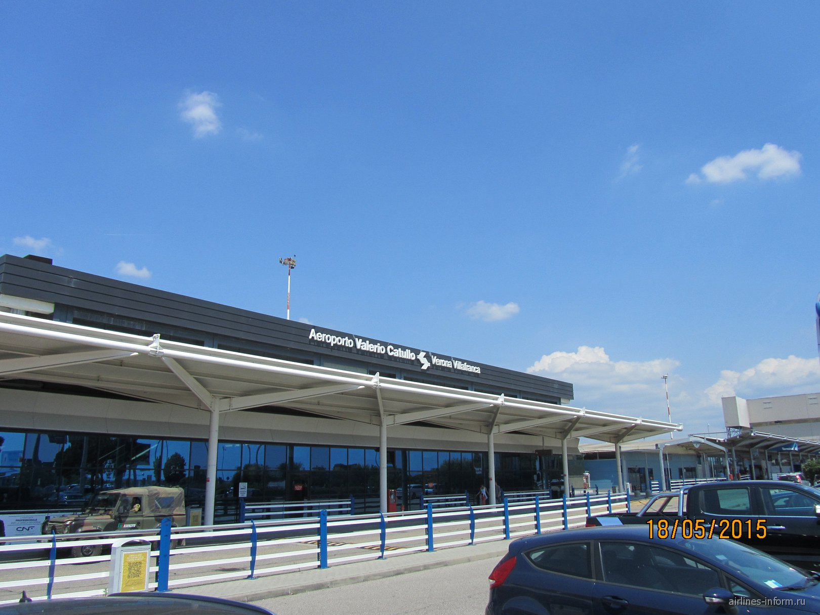 Пассажирский терминал аэропорта Верона Валерио Катулло