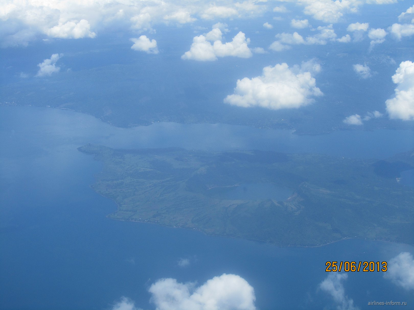 Перелет из Манилы в Катиклан