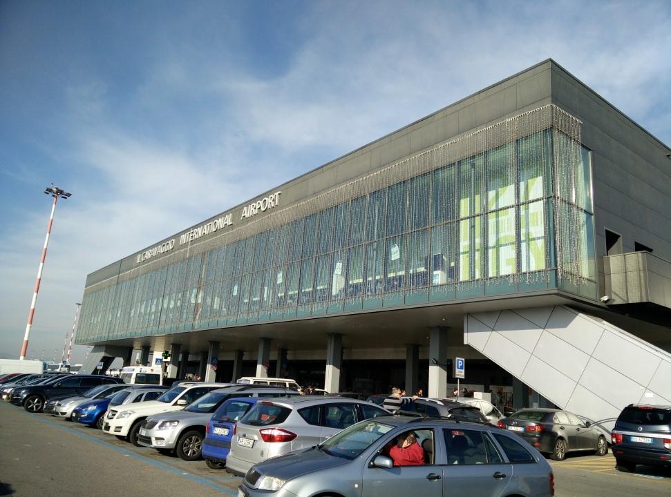 Пассажирский терминал аэропорта Бергамо Орио Аль Серио