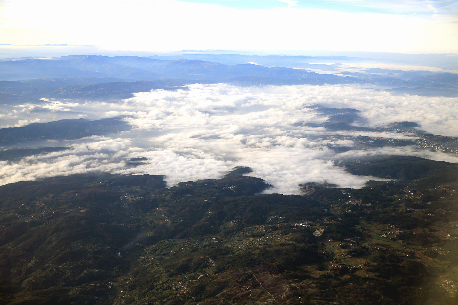 В полете над Португалией