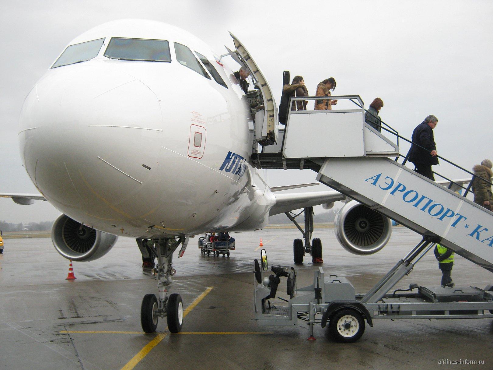 Москва (Внуково) - Калининград (Храброво) на новом Аэробусе-321 ЮТэйр