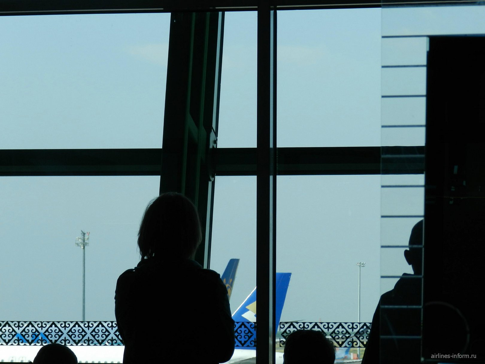 В аэропорту Астана