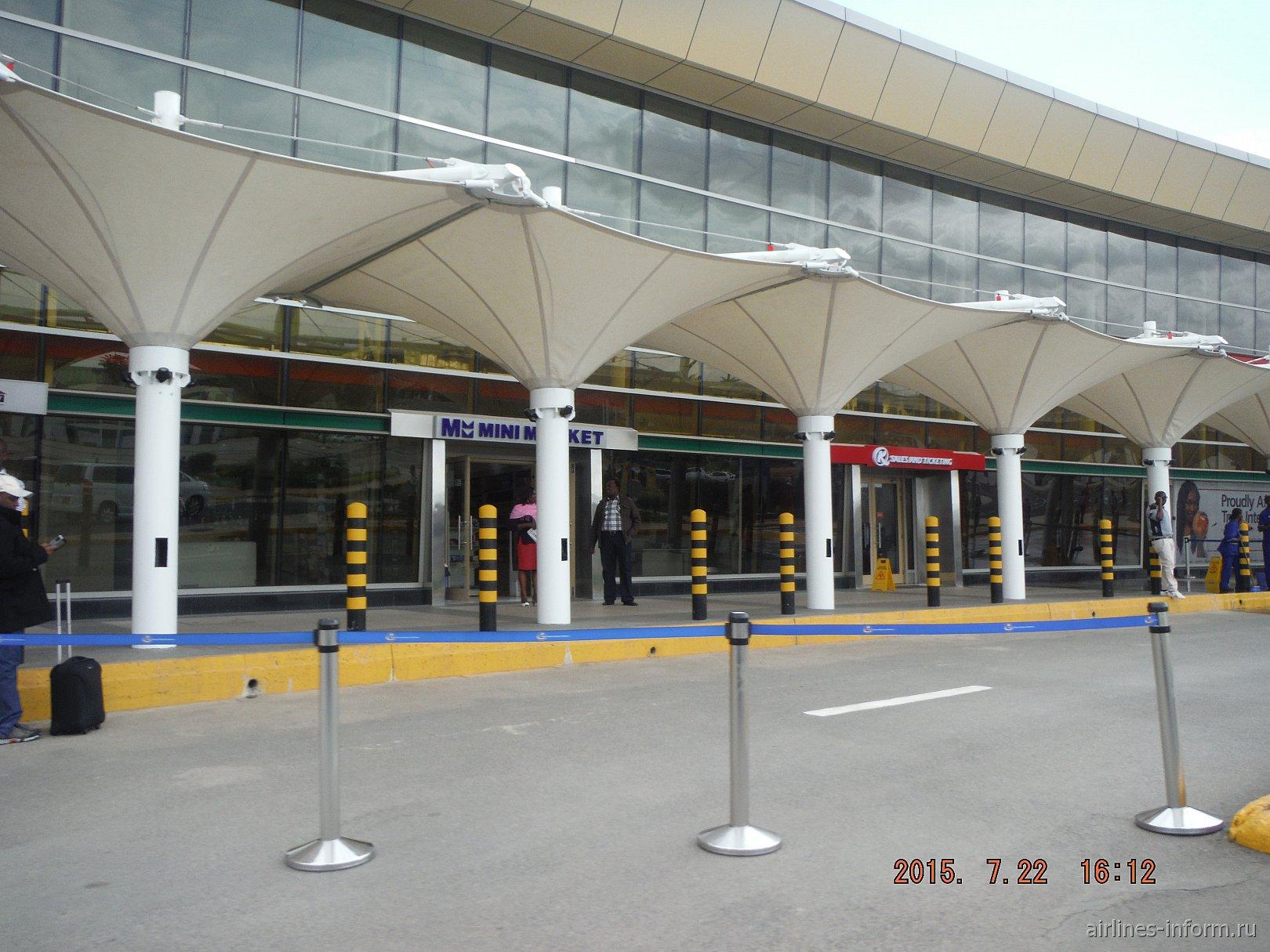 Терминал 1 аэропорта Найроби Джомо Кеньятта