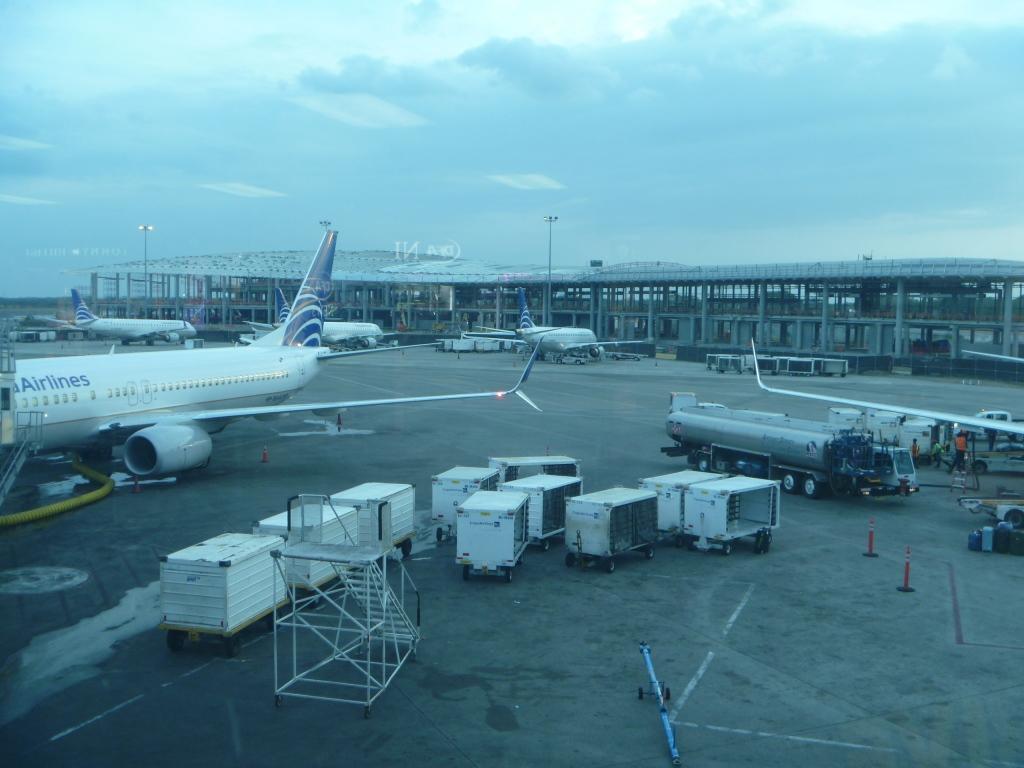 Строящийся новый терминал в аэропорту Панама Токумен