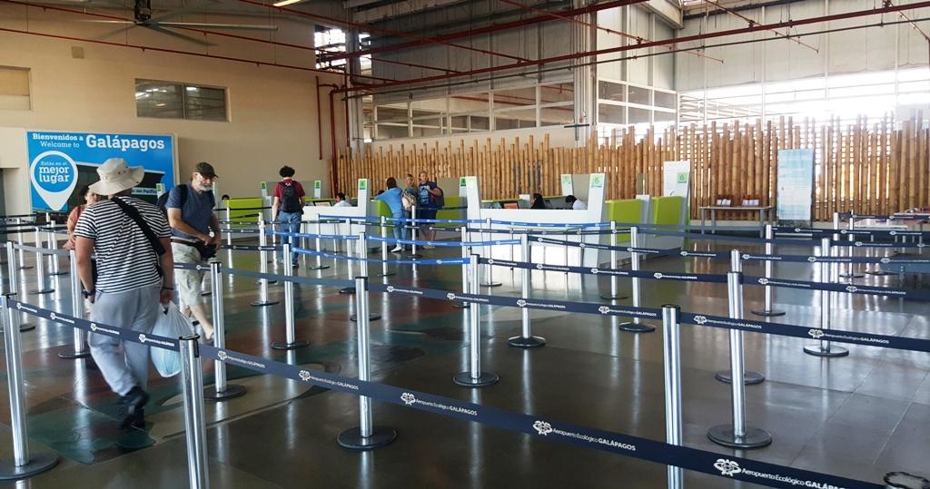 Зона контроля в аэропорту Сеймур