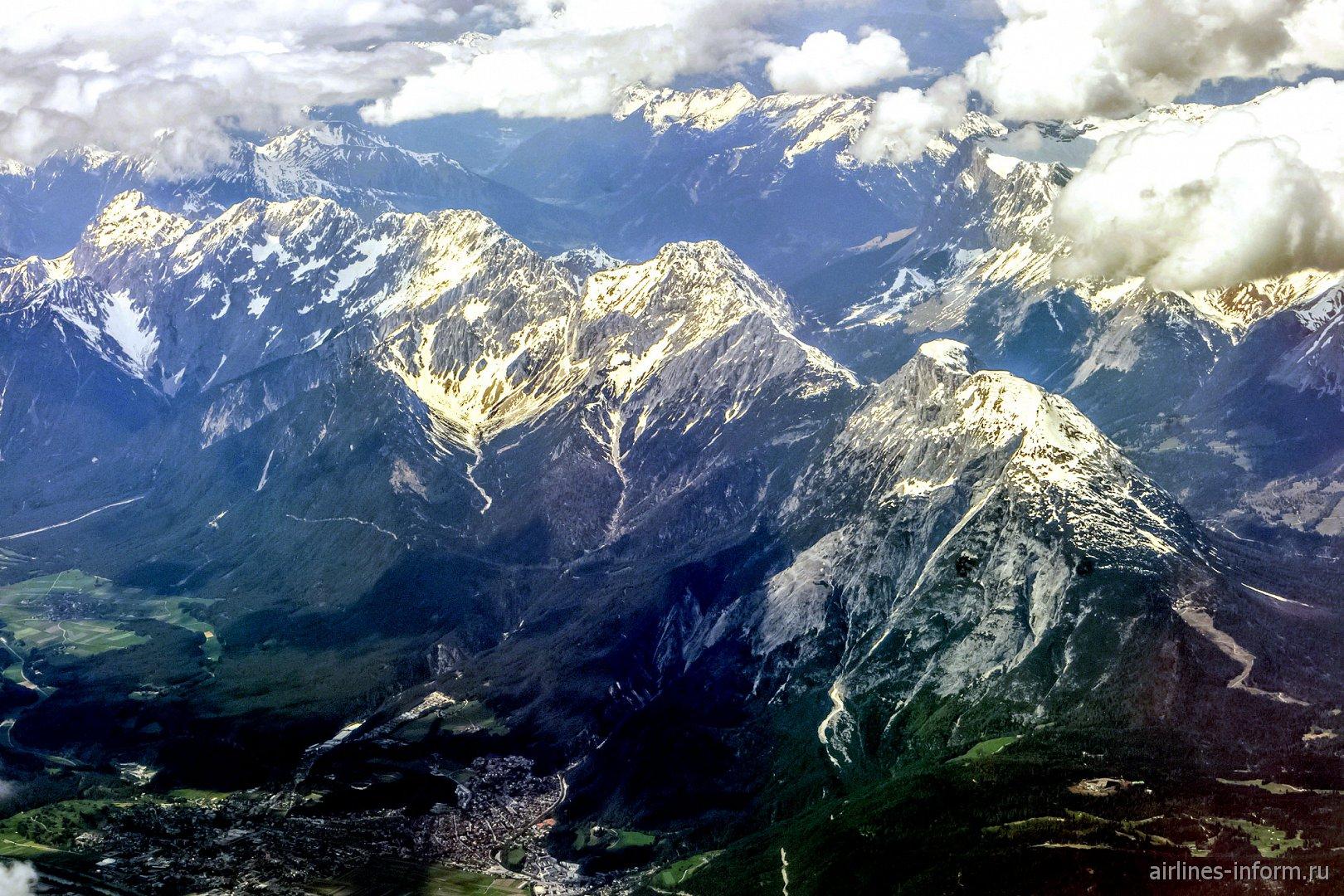 Баварские Альпы в Германии