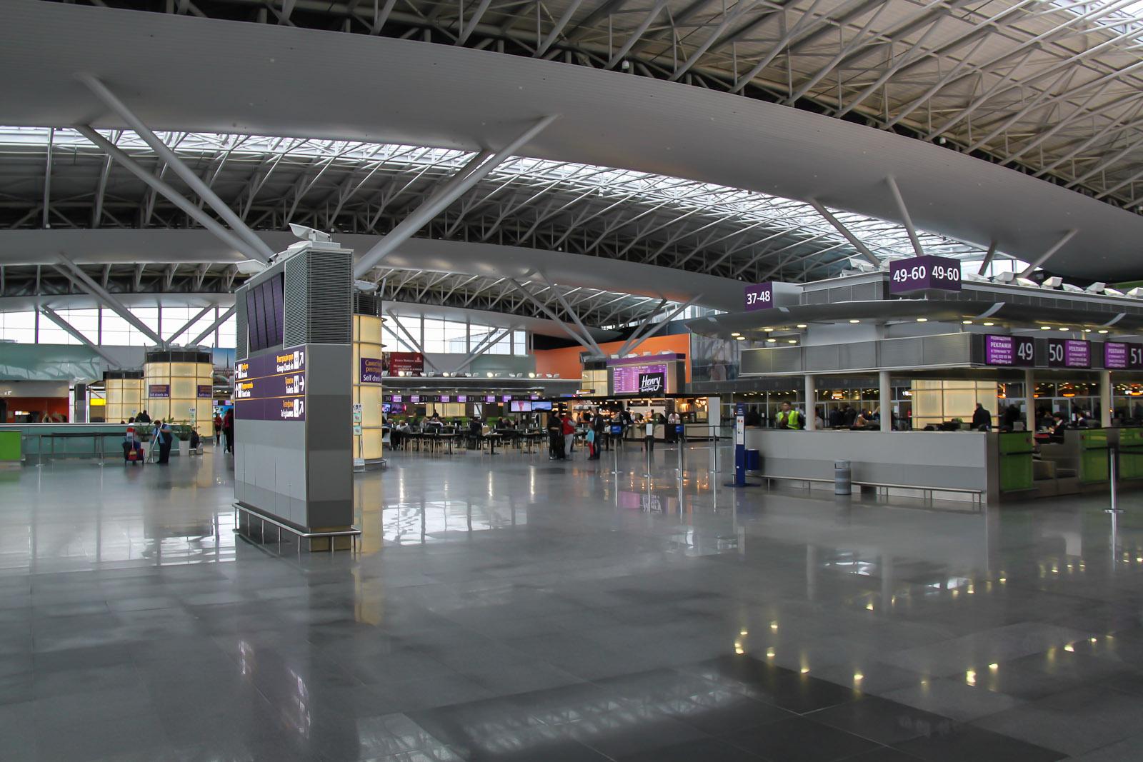 Терминал Д аэропорта Киев Борисполь