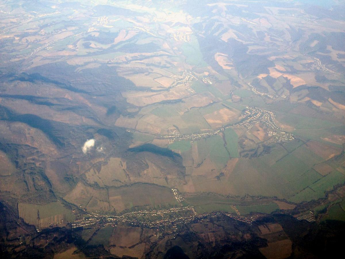 В полете над Словакией
