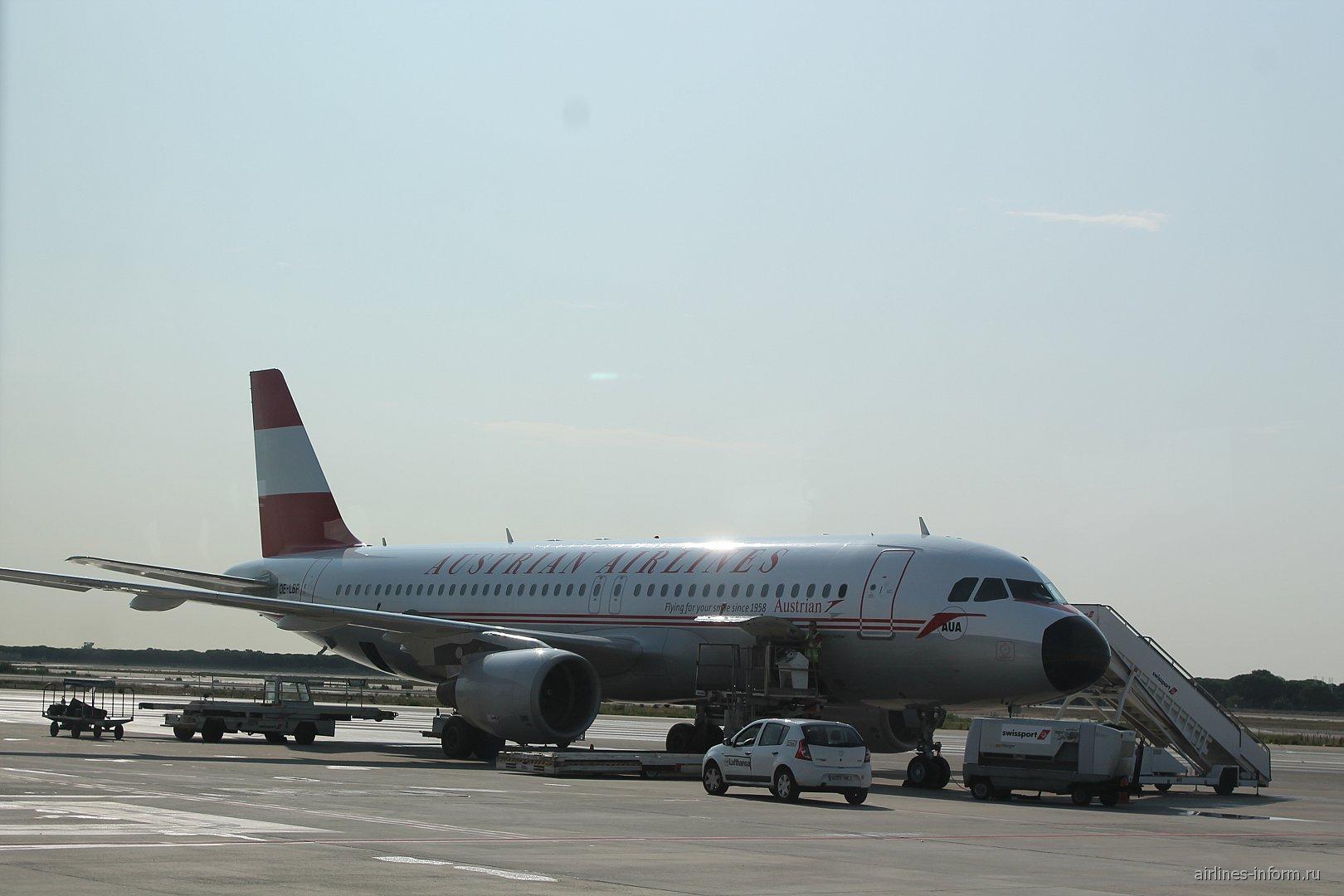 Austrian Airlines Airbus A320 OE-LBP