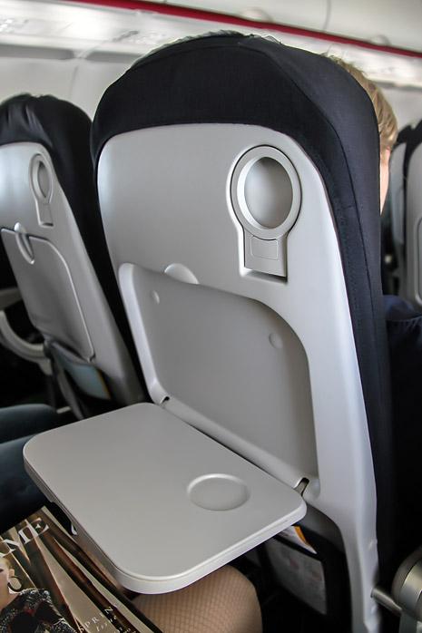 Кресло самолета Airbus A320 авиакомпании Air France