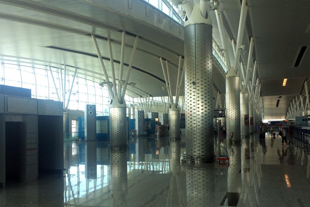В аэропорту Энфида-Хаммамет