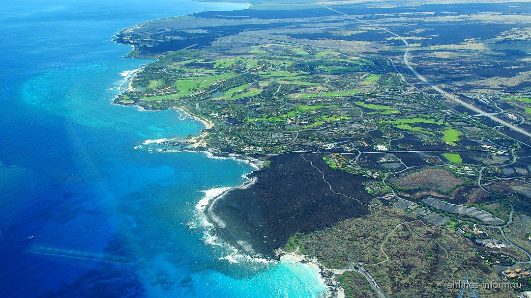 Побережье Большого острова Гавайи