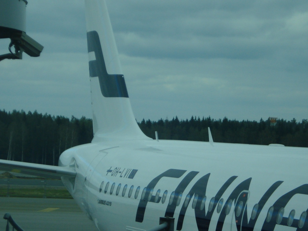 Airbus A319 of Finnair