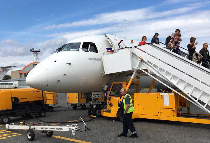Возвращение на Airlines Inform. VOG-SVO на Embraer 190 Pegas Fly.