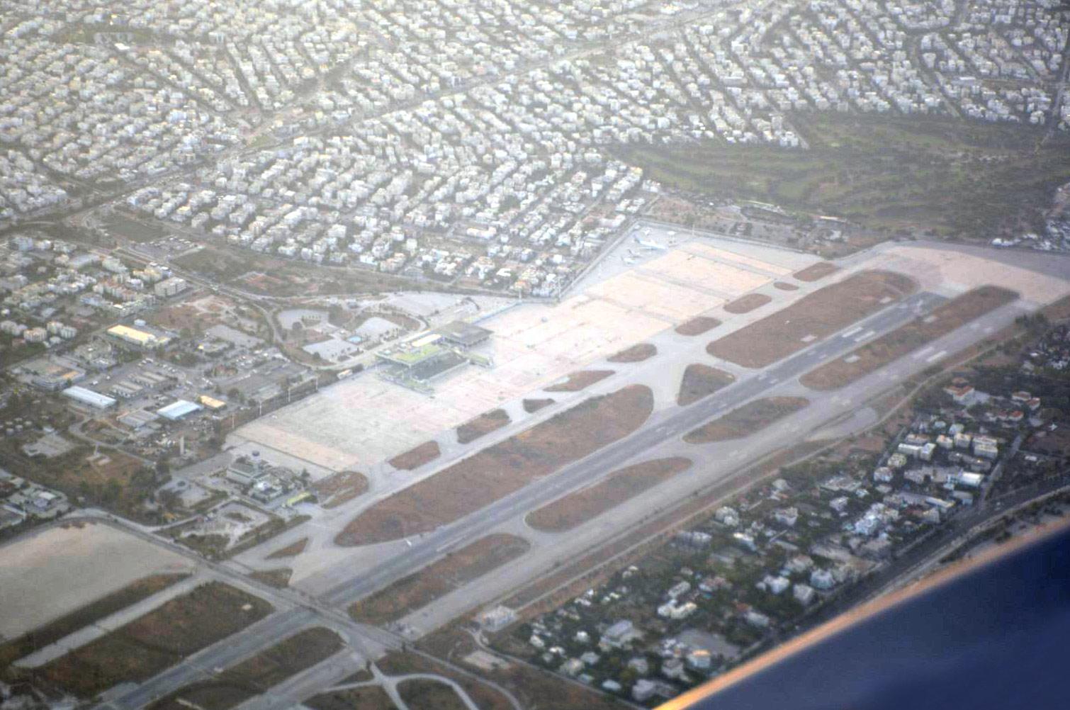 Аэропорта Эллиникон - бывший основной аэропорт Афин