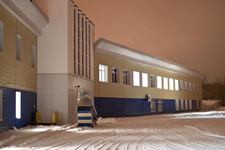 Аэровокзал аэропорта Саранск