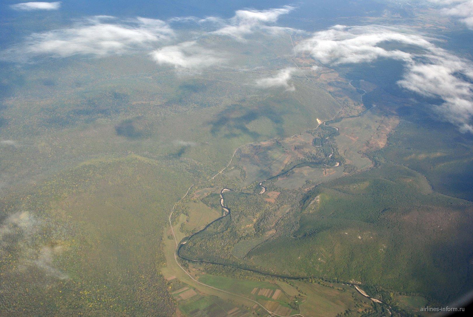 Тайга в Приморском крае России