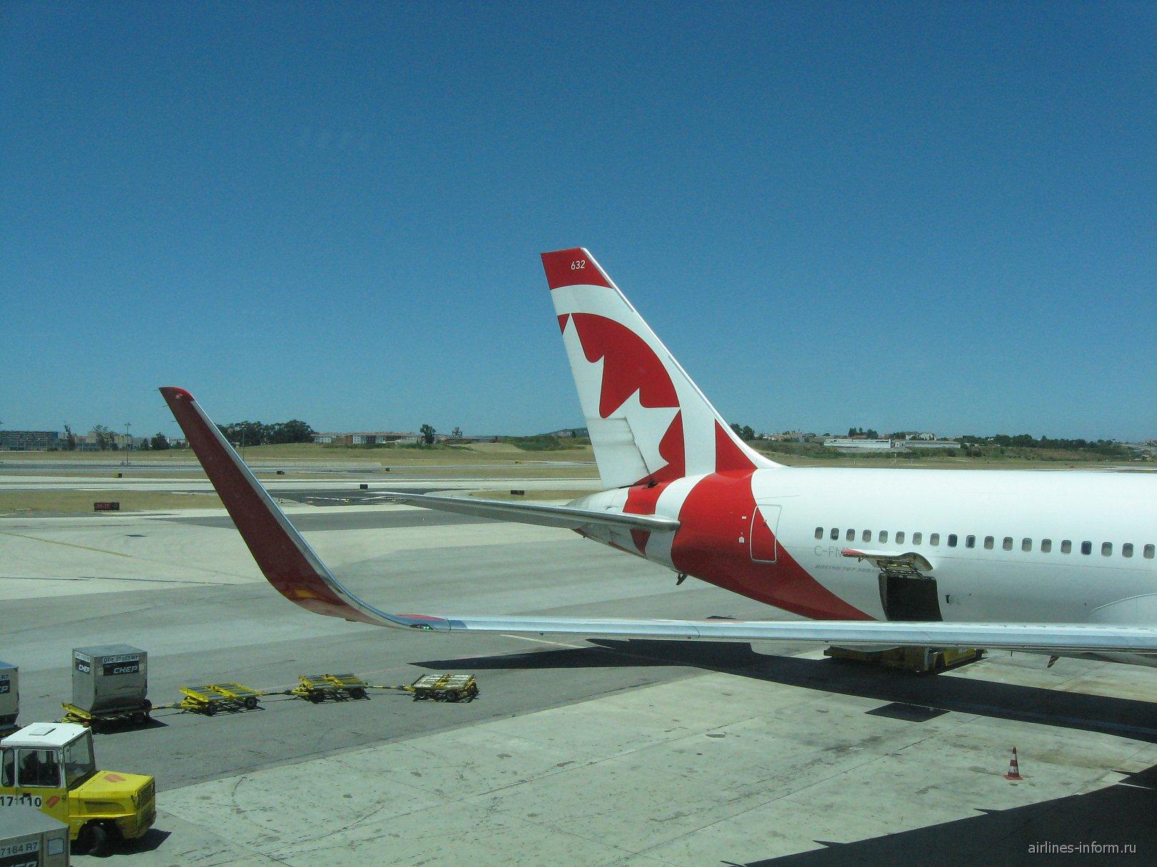 B763 Air Canada Rouge