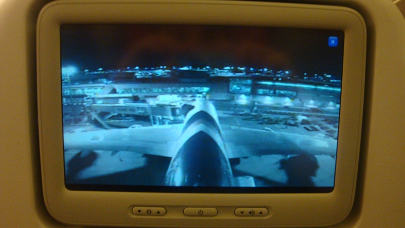 Видеокамера в самолета Airbus A380