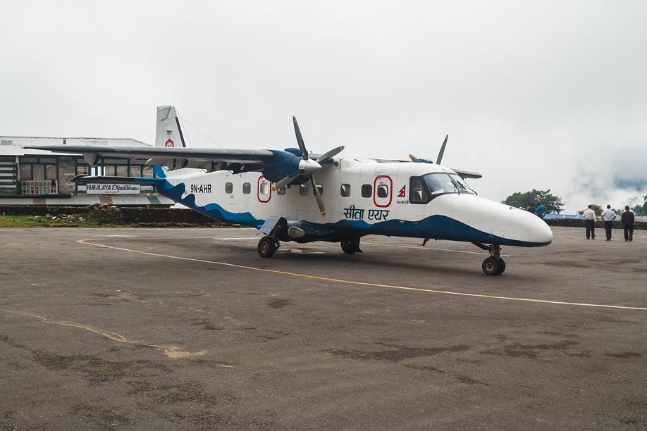 Dornier 228 авиакомпании Sita Air в аэропорту Лукла
