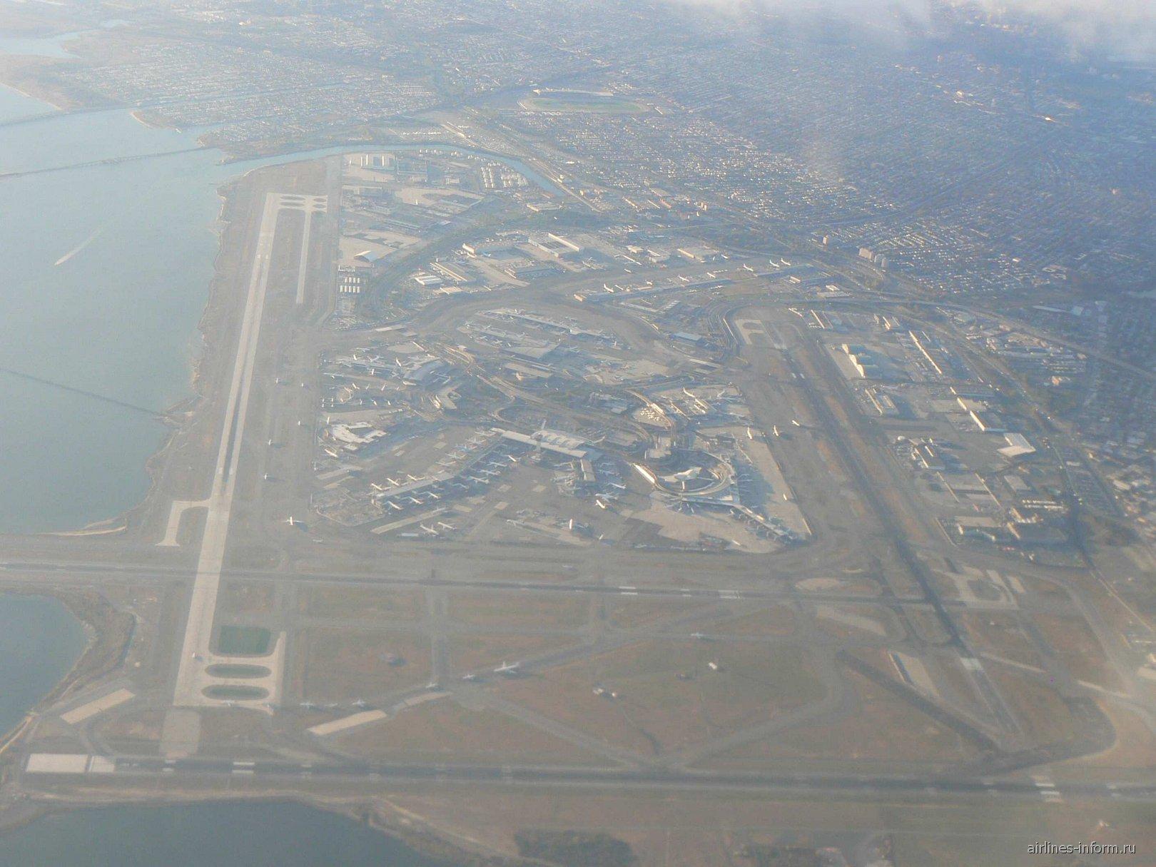 JFK с высоты 2 км