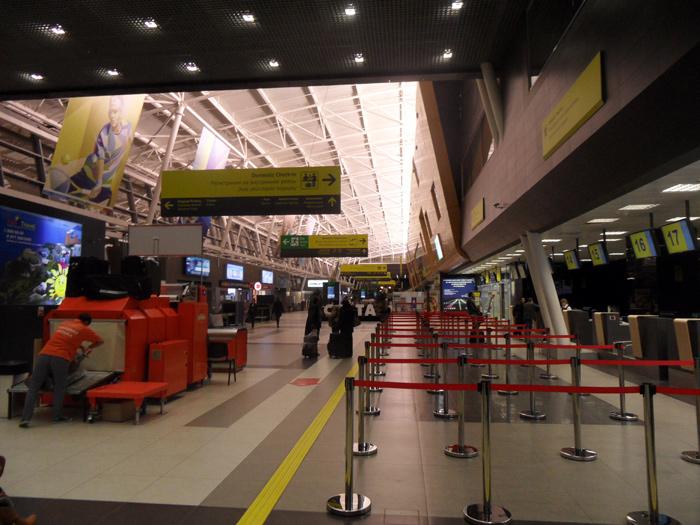 В терминале 1 аэропорта Казань