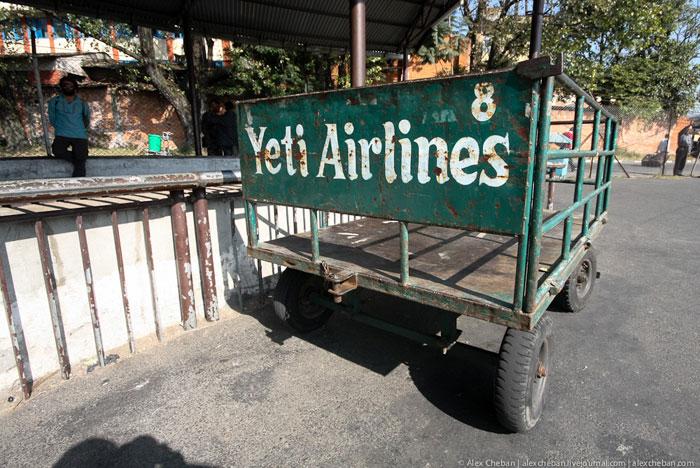 В аэропорту Катманду