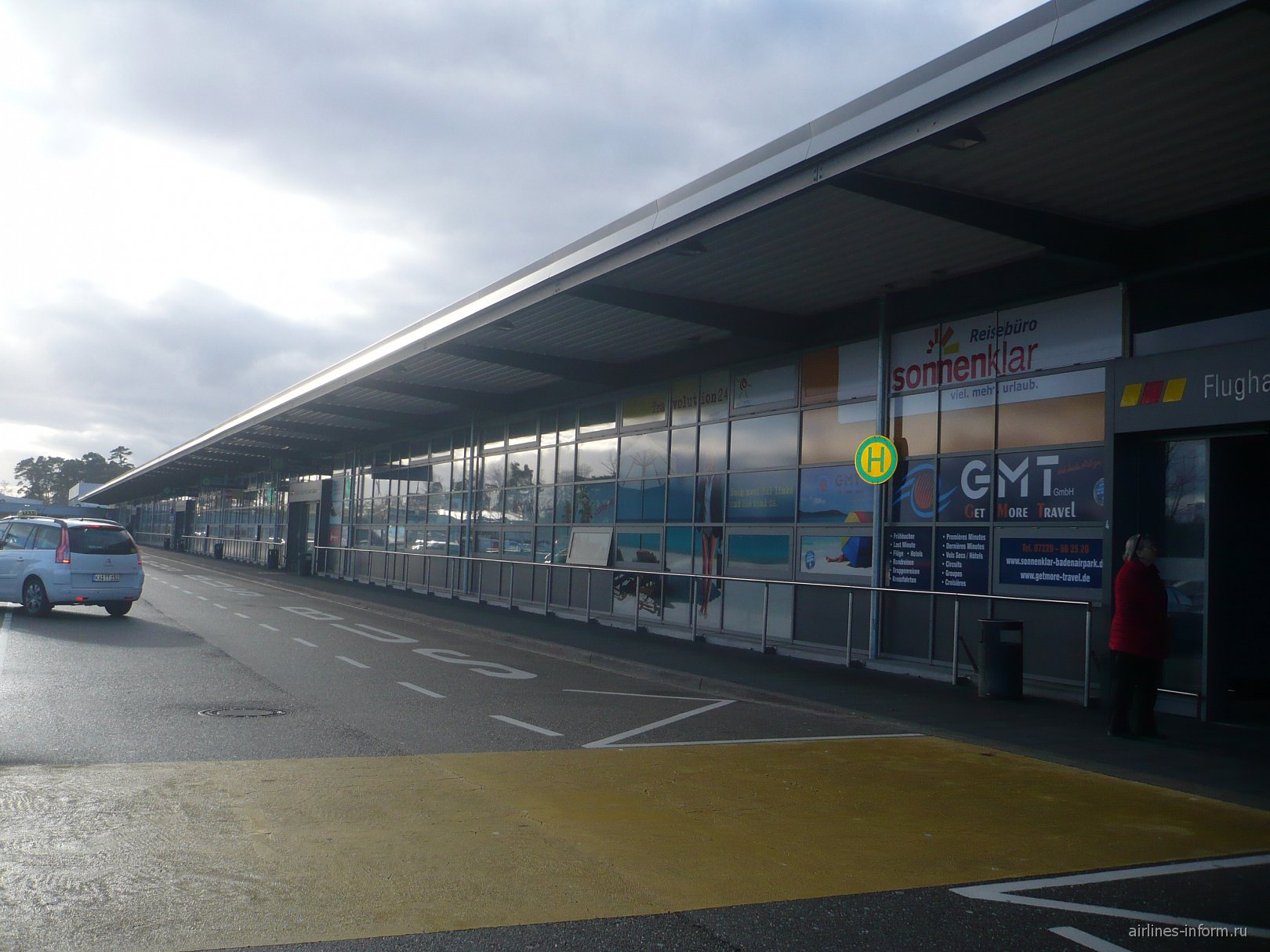 Аэровокзал аэропорта Карлсруэ Баден-Баден