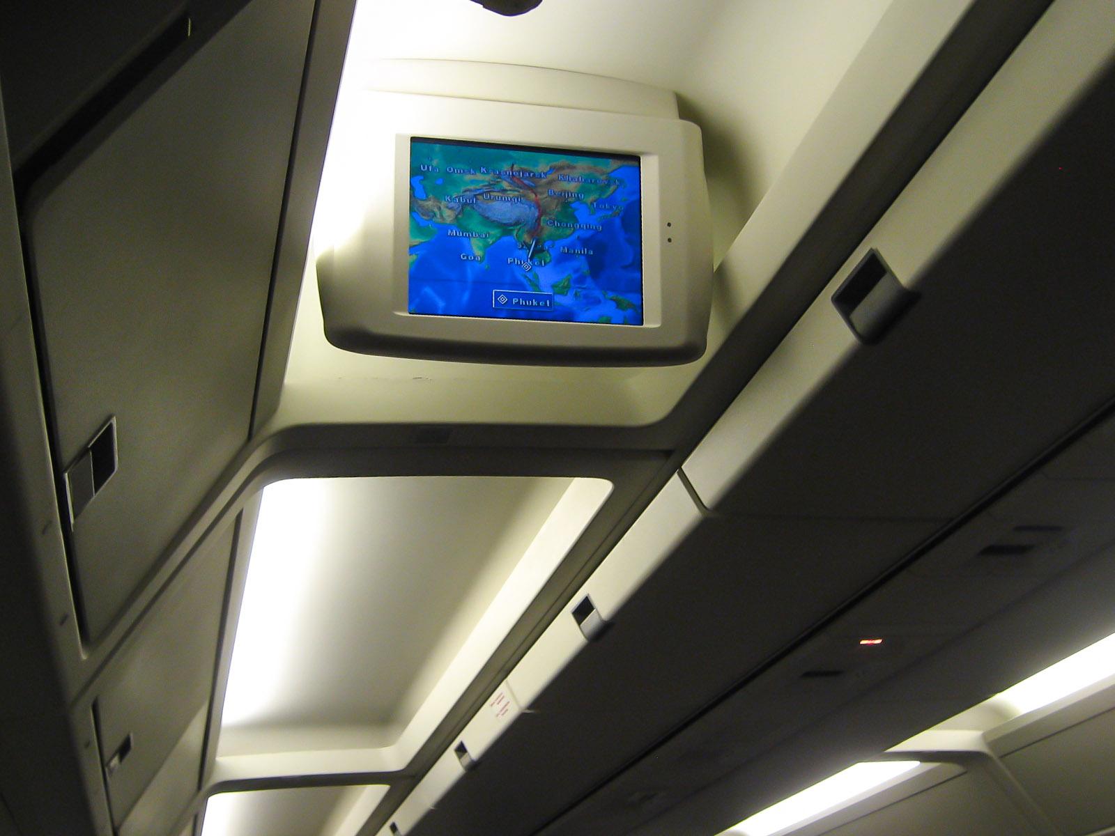 Салон самолета Боинг-767-300 авиакомпании Nordwind