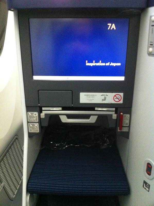 Система развлечений в бизнес-классе самолета Боинг-787
