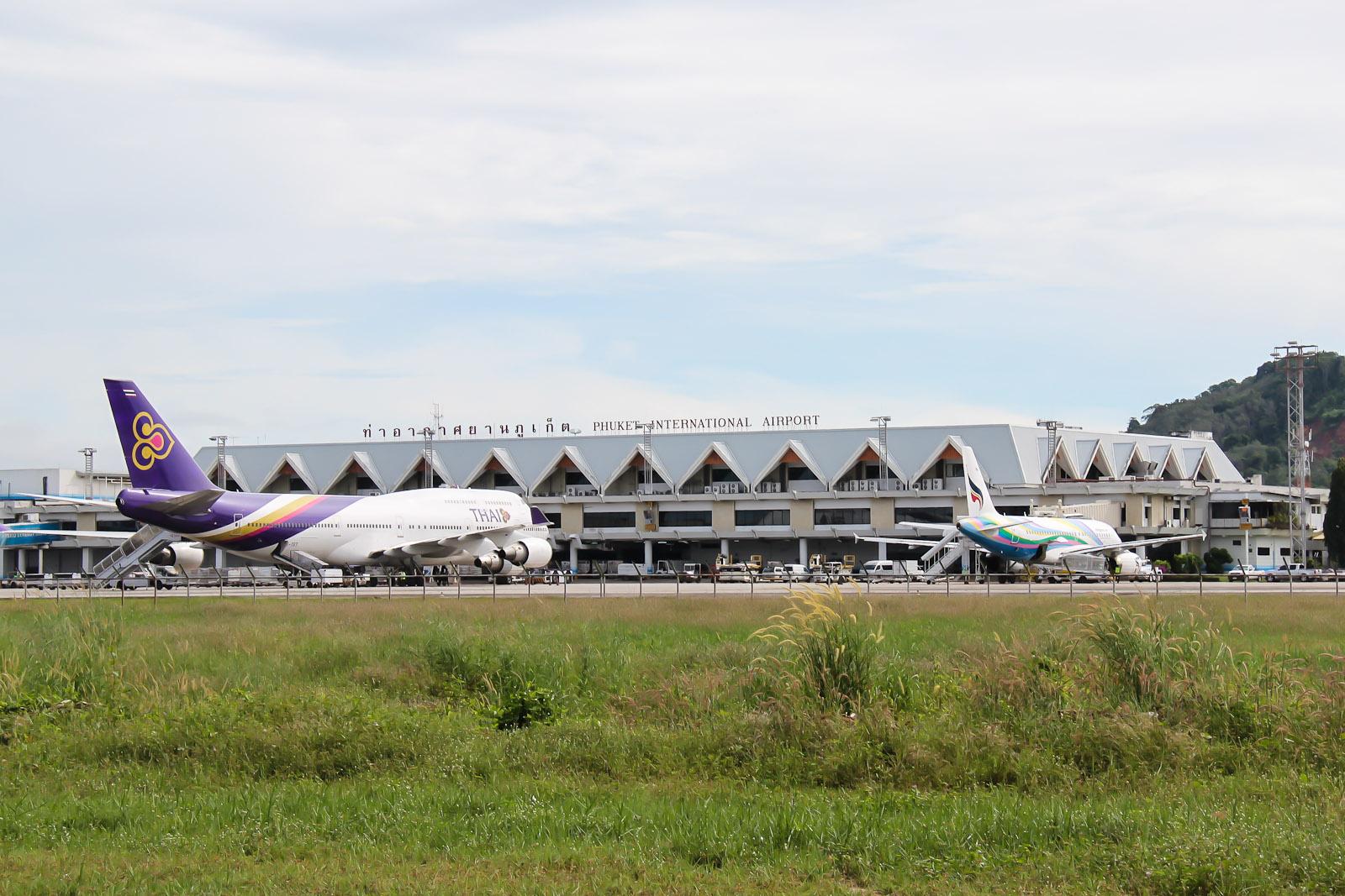Пхукет-Москва на Боинге-747 Трансаэро