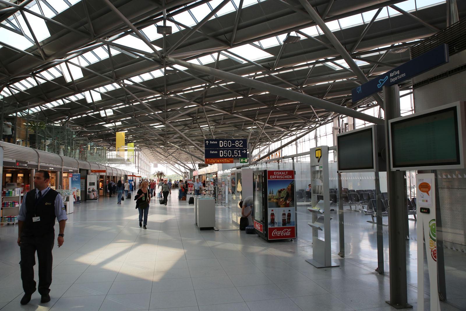 В терминале 2 аэропорта Кёльн/Бонн