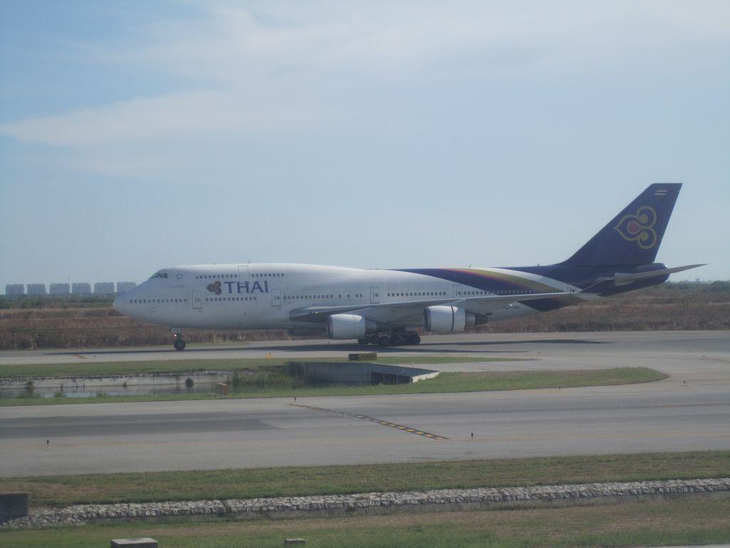 Боинг-747-400 Тайских авиалиний