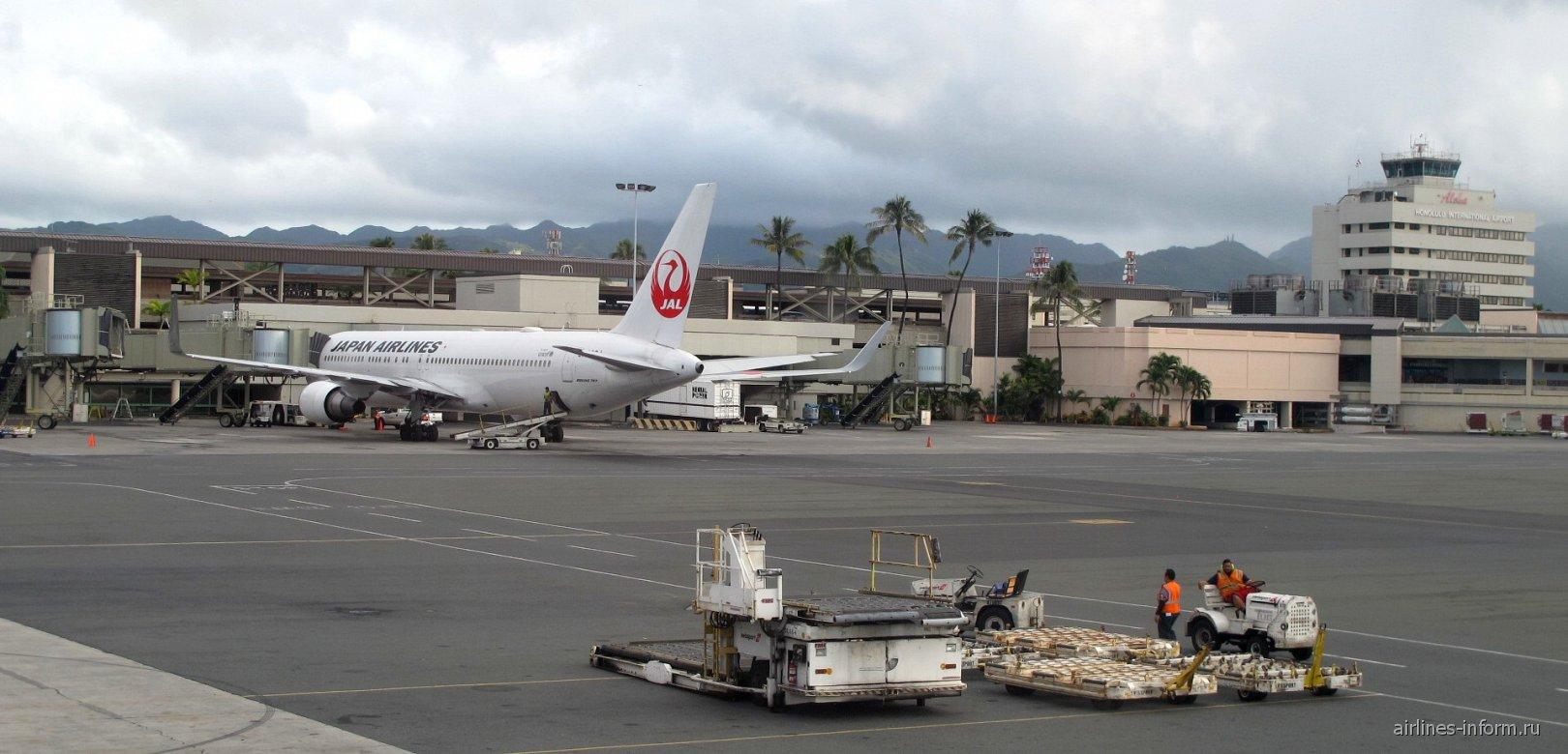 Пассажирский терминал аэропорта Гонолулу