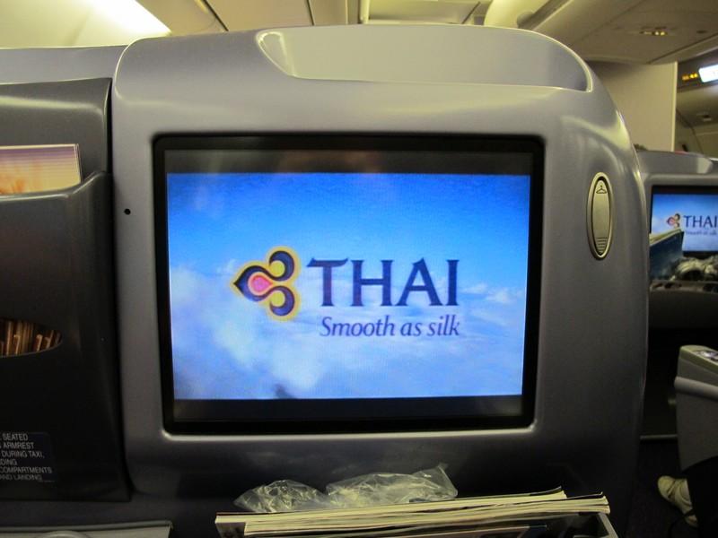 Бизнес-класс Royal Silk Class в самолете Airbus A330-300 Тайских авиалиний