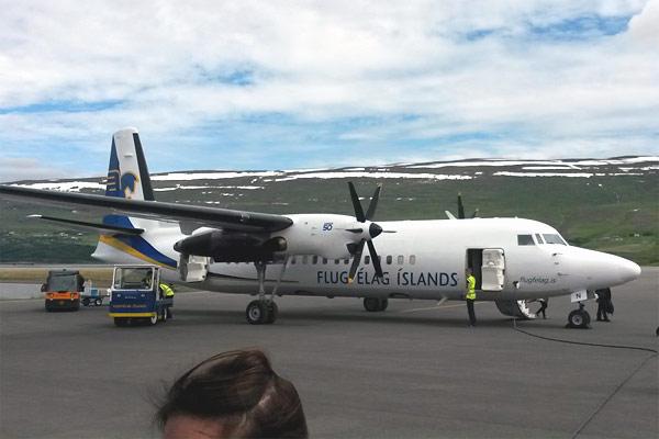 Air Iceland: Рейкьявик - Акюрейри и обратно или внутренние рейсы в Исландии!