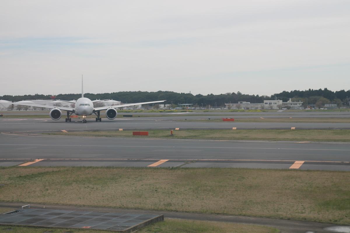 Взлет из аэропорта Токио Нарита